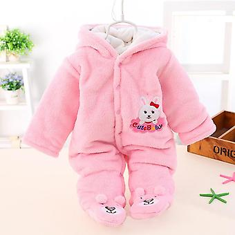Jackets For Baby Girls Boys Warm Hooded Overalls
