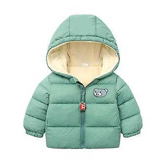 Hooded Thickened Down Jacket voor baby's