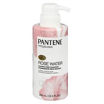 Pantene Pro V Blends Soothing Moisture Wash Shampoo Rose Water, 10.1 Each