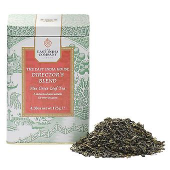 The East India House Director's Blend Loose Leaf Green Tea Caddy 125g