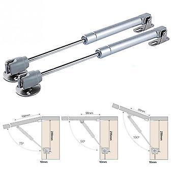 Support hydraulique de levage de porte de charnières pour l'armoire de cuisine, ressort pneumatique de gaz