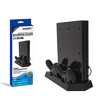 Dual Charging Stand Cooler Fan Game Console