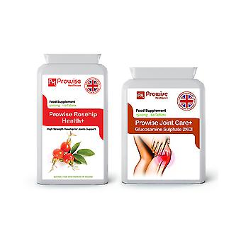 Rosehip + Glucosamine 2KCL | Suitable For Vegetarians & Vegans | Made In UK