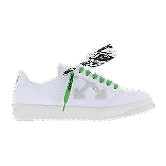 OFF WHITE Croco Pattern  . Sneaker White OMIA042E20LEA002100 shoe