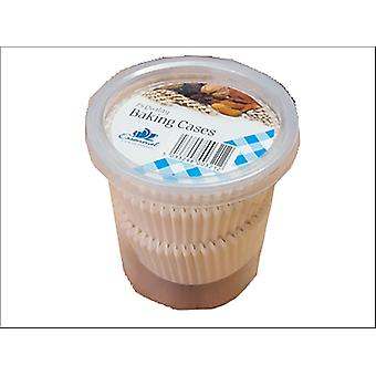 Essential Cake Cases White x 75 CAKE75W