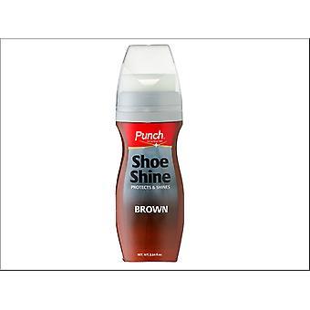 Punch Shoe Shine Brown 75ml