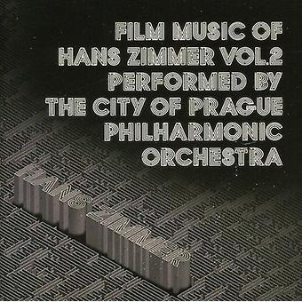 Staden av Prague Philharmonic Orchestr - Film musik av Hans Zimmer, Vol. 2 [CD] USA import