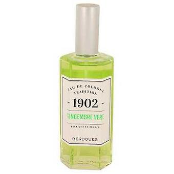 1902 Gingembre Vert By Berdoues Eau De Cologne Spray (unboxed) 4.2 Oz (women) V728-537850