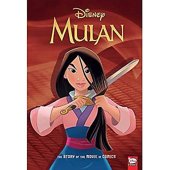 Disney Mulan: The Story of� the Movie in Comics