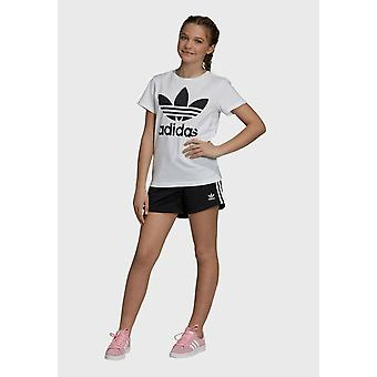 Adidas Girls 3 Stripes Shorts DV2895