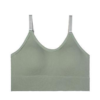 Women Tank Crop Seamless Underwear Short Tops Sexy Lingerie Sleeveless