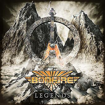 Bonfire - Legends [CD] USA import