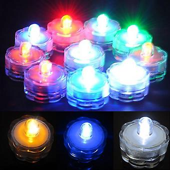 Super Bright Submersible Waterproof - Mini Led Tea Light Candle