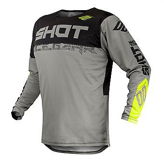 2020 Shot Contact MX Jersey Adult - Trust Grey Neon Yellow