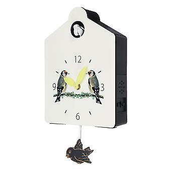 Antieke houten koekoeksklok vogel tijdklok swing alarm horloge muur huis decoraties