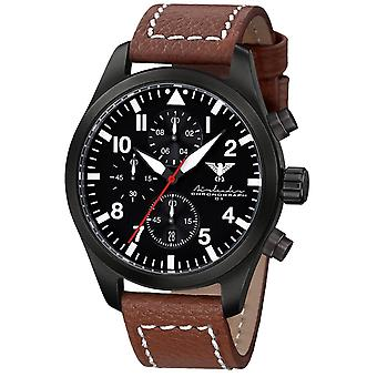 Mens Watch Khs KHS.AIRBSC.LB5, Quartz, 46mm, 10ATM