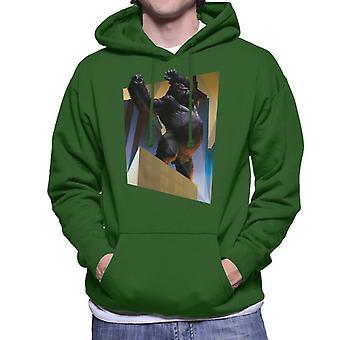 King Kong City Lights Roaring Rage Men's Hooded Sweatshirt