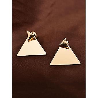 Kolczyki w kształcie trójkąta