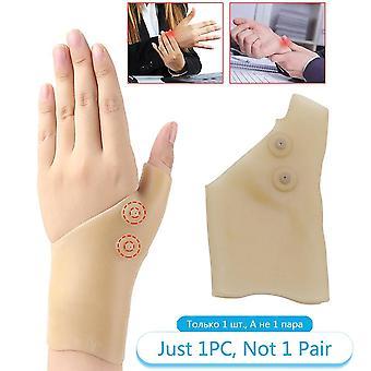 1pcs العلاج المغناطيسي المعصم اليد القفازات دعم الإبهام
