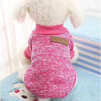Clothes For Small Dogs Soft Pet Dog Sweater For Dog Winter  Classic Pet
