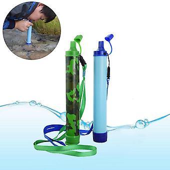IPRee bærbar vannfilter halm renser renere beredskap sikkerhet overlevelse drikkeverktøy kit