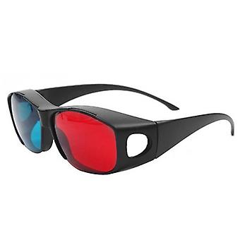 3d Glasses For Dimensional Anaglyph Tv Movie, Dvd Game
