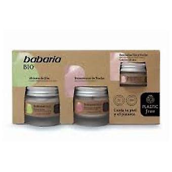 Babaria Packung Gesichtsbehandlung Bio 3 piezas