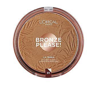 L&Apos;Oreal Make Up Bronz Kérem! La Terra #01-könnyű karamell nőknek