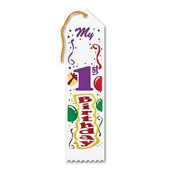 Mi 1er premio de cumpleaños cinta (paquete de 6)