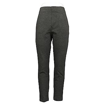 Legacy Leggings Park Avenue Ponte Stretch Pull On Waistband Gray A387945