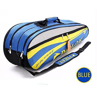 6--8pcs Dobbel dekk Badminton Bag Stor Tennis Racquet Sports Bag Ny Tennis