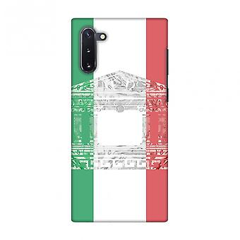The Pantheon Of Rome- Italy Flag Slim Hard Shell Case For Samsung