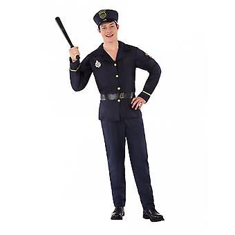 Déguisement uniforme de policier adolescent