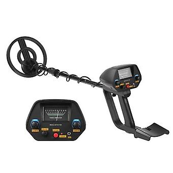 Metal Detector Adjustable Waterproof Metal Finder 31-41in with DISC and Pinpoint Modes Audio Prompt for Adults and Junior Lightweight Foldable Easy to Carry
