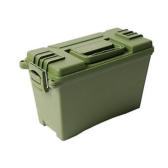 Plastic Tool Case Storage Can Heavy Duty Caliber Bulk Ammo Box