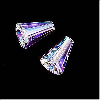 Swarovski Kristall, #5540 Artemis Kegelperlen 12mm, 2 Stück, Crystal AB