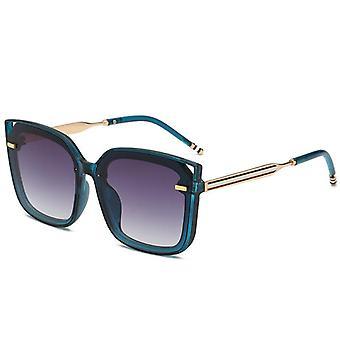 Vierkante gepolariseerde zonnebril voor mannen en vrouwen polygoon gespiegelde lens y1956