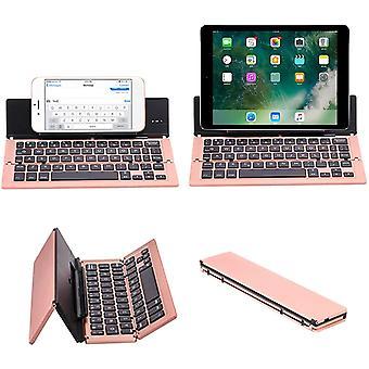 FengChun Drahtlose Tastatur Bluetooth Faltbare Tastatur Mit Ständer Aluminiumlegierung