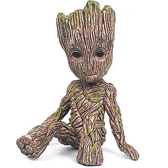 3+ حراس المجرة شجرة رجل غروت عمل دمية الرقم لعبة