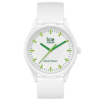 Ice-Watch ICE Solar Power Luonto, Naisten valkoinen kello silikonihihnalla, 018473 , Pieni (36 mm)