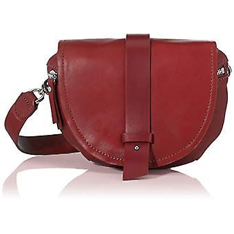 Liebeskind Berlin Soft Bucket - RiemtasDonnaRox Crossbody Bag (Dahlia Red) 3x16x22 centimeter (B x H x T)