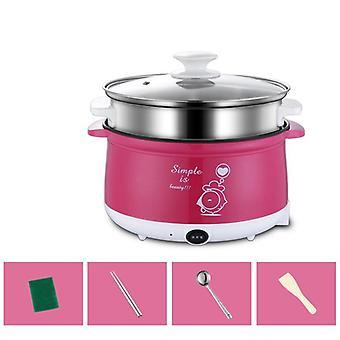 Household Electric Mini Multi Cooker, Non-stick Hot Pot, Cooking Pot