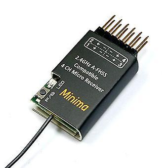 Récepteur compatible FrSky Hitec, Minima 4ch