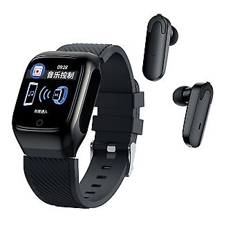 Bluetooth Headset 5.0 And Wristband 2 In 1 Watch