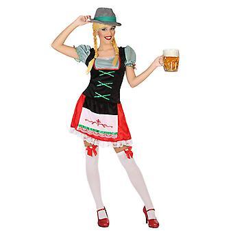 Costume pour adultes femme allemande Vert (1 Pc)