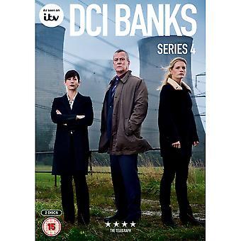 DCI Banks: Série 4 DVD