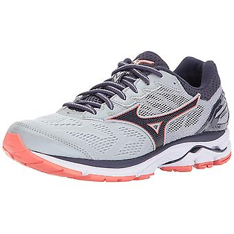 Mizuno Womens Wave Rider 21 Stoff Low Top Lace Up Running Sneaker