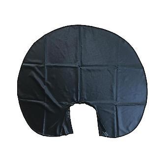 Salón de gran tamaño peluquería Gorra impermeable Cuello Envoltura cuello Protector para el tinte de cabello Barbershop Cabello