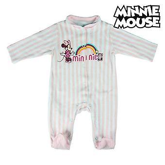 Детский комбинезон с длинными рукавами Minnie Mouse 74617 Розовый