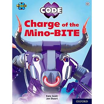 Project X CODE Lime Book Band Oxford Level 11 Maze Craze Charge of the MinoBITE by Kate Scott